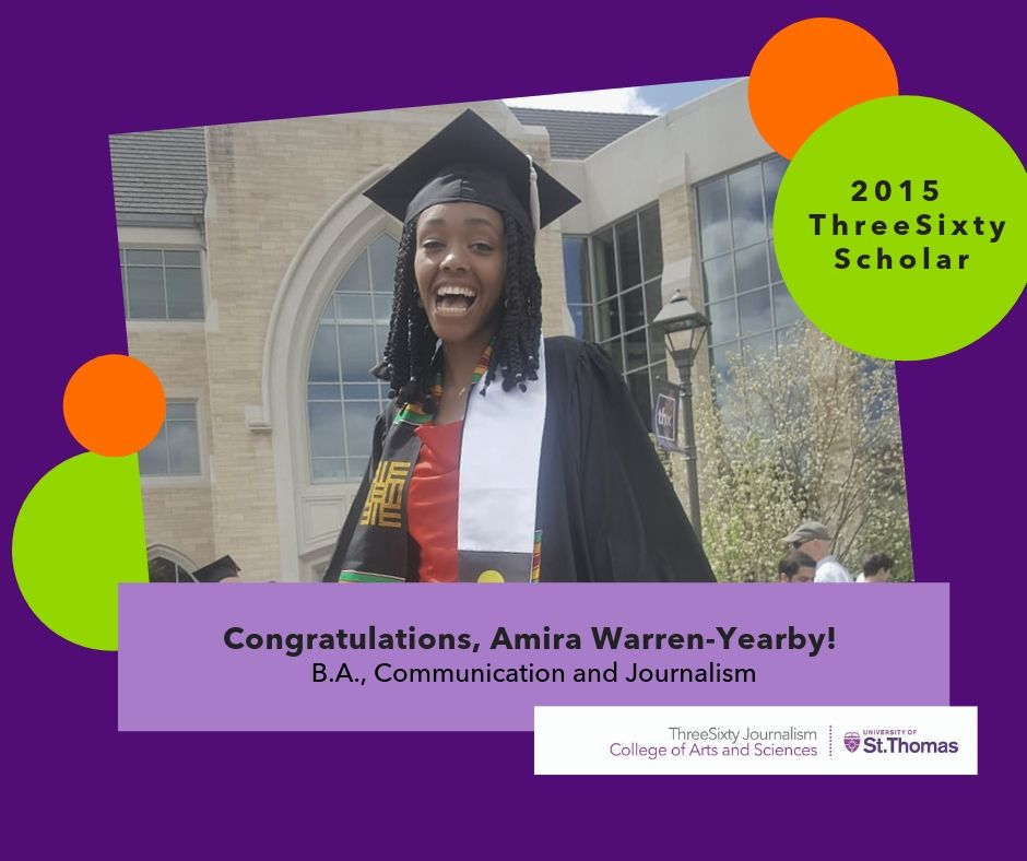 Amira Warren-Yearby 2019 St. Thomas Graduation Graphic and Photo