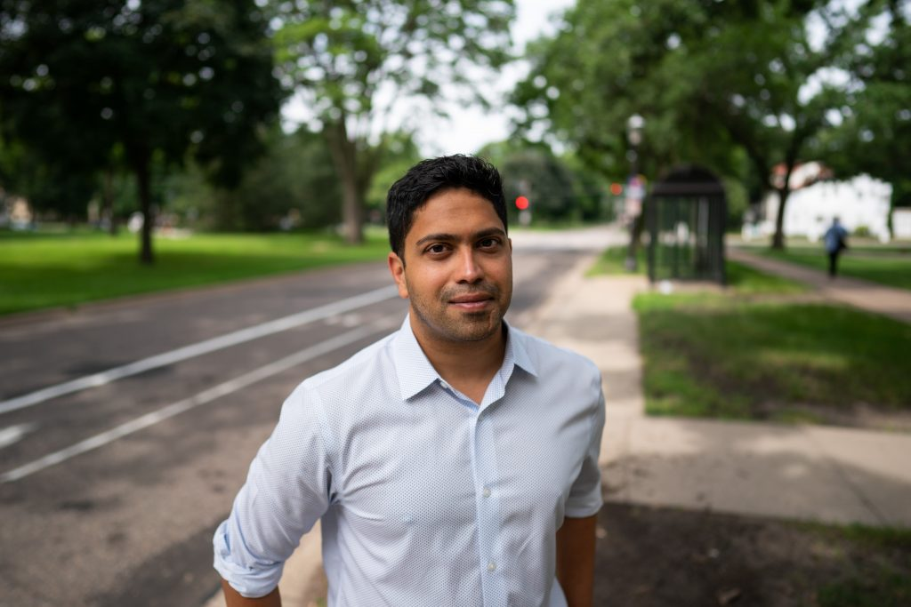 Our Streets Minneapolis Executive Director Ashwat Narayanan (Courtesy Mark VanCleave).