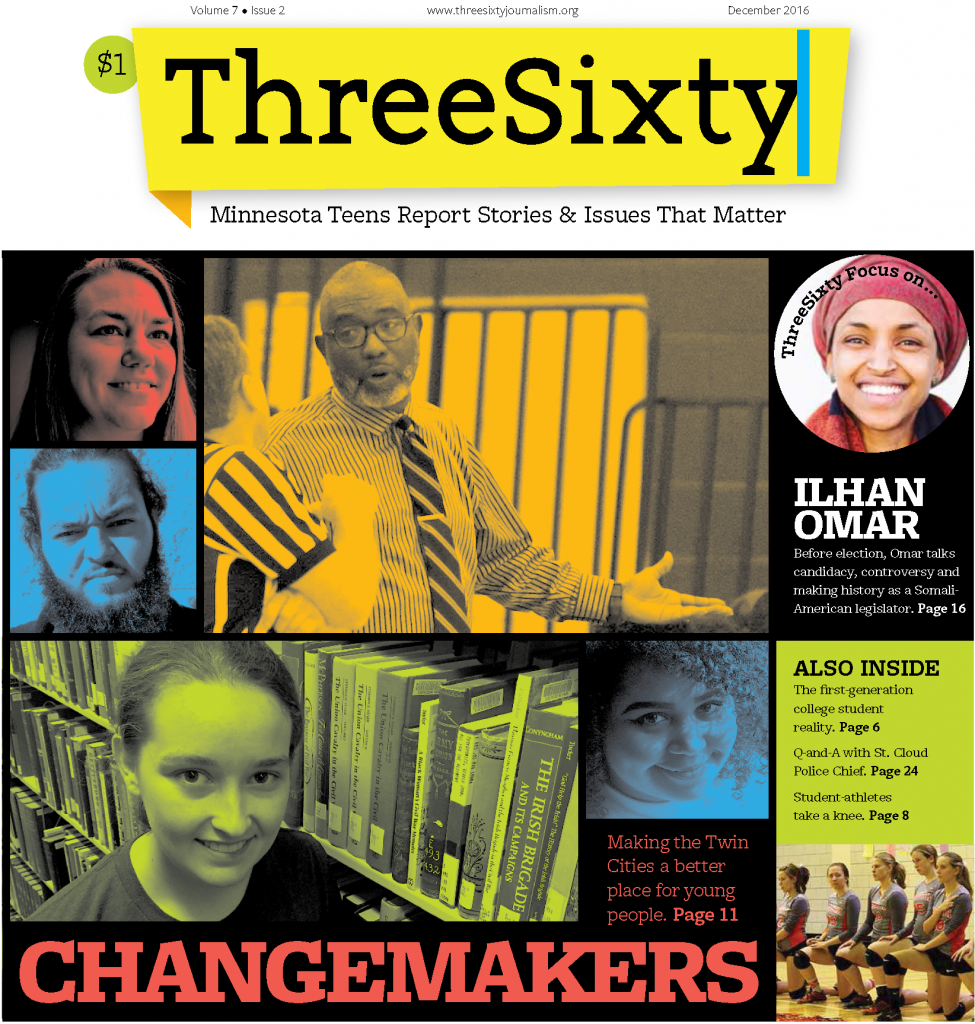 ThreeSixty December 2016 Magazine cover