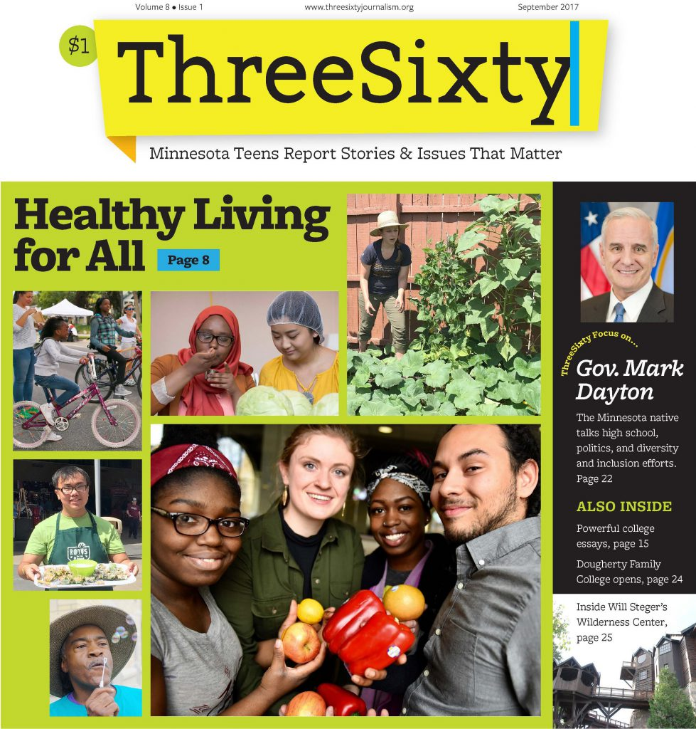 ThreeSixty September 2017 Magazine cover
