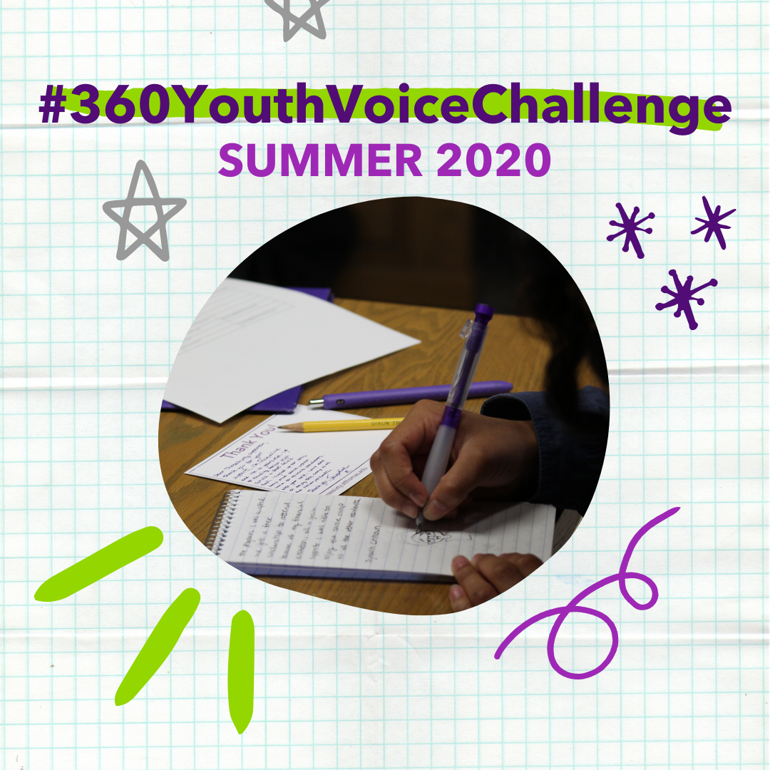 #360YouthVoiceChallenge: Summer 2020
