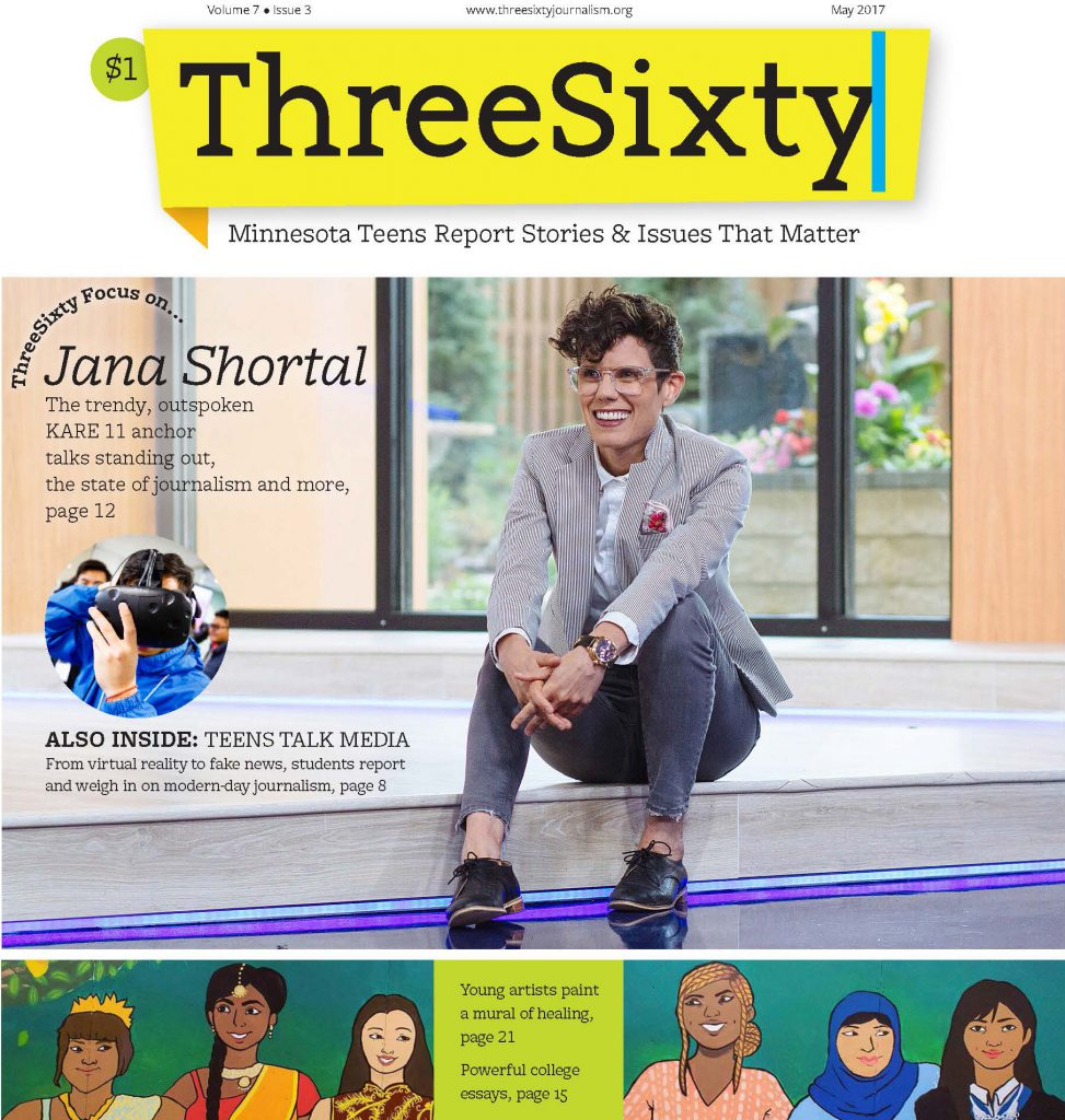 ThreeSixty May 2017 Magazine cover
