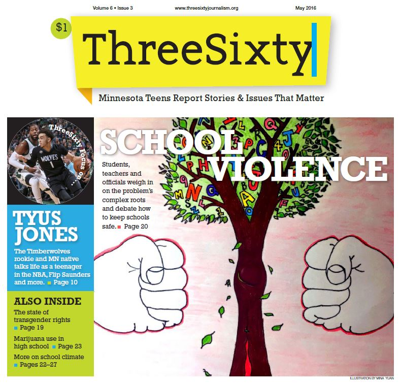 ThreeSixty May 2016 Magazine cover