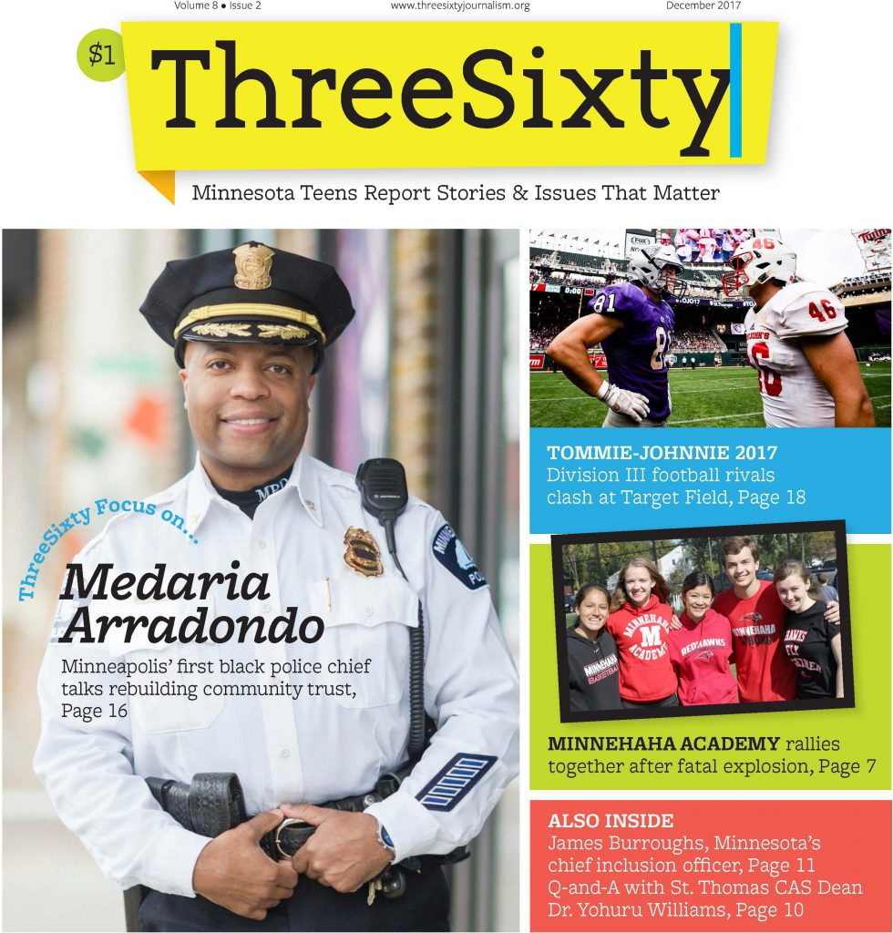 ThreeSixty December 2017 Magazine cover