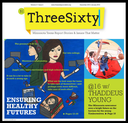 ThreeSixty January 2015 Magazine cover