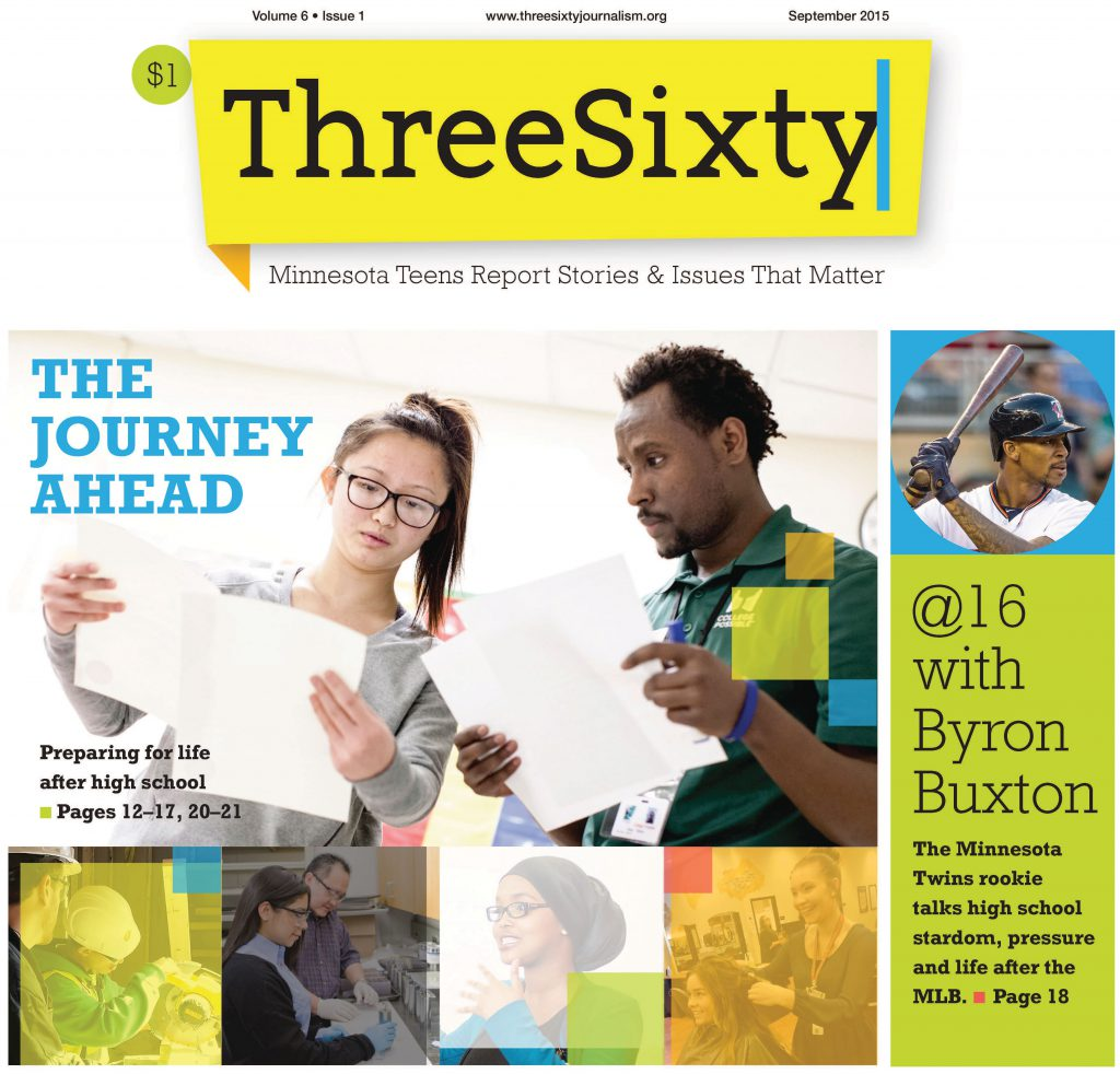 ThreeSixty September 2015 Magazine cover