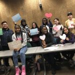 The News Team shares their journalism-themed valentines. (ThreeSixty Journalism/Bao Vang)
