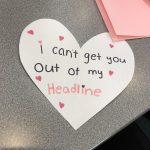 ThreeSixty Journalism students made valentines at News Team on Feb. 9. (ThreeSixty Journalism/Bao Vang)
