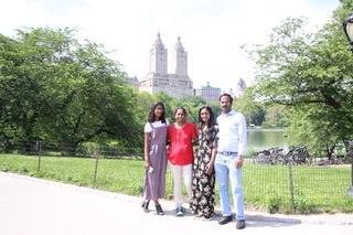 Dedeepya and her family