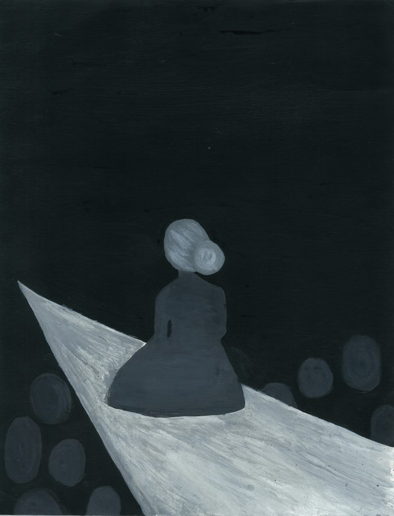 """Isolation."" Illustration by Isabelle Loisel."