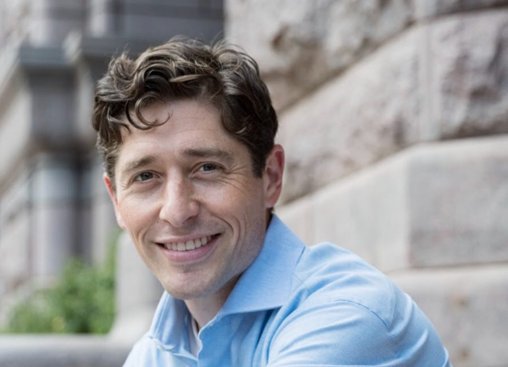 Minneapolis Mayor Jacob Frey, 36, is the city's second-youngest mayor. The former city council member's first experience with Minneapolis came during a Twin Cities marathon more than a decade ago. (Photo courtesy of Office of Jacob Frey)