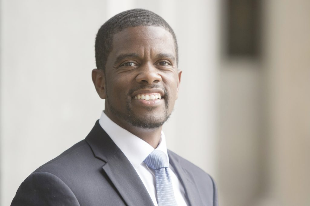 Melvin Carter III, a fourth-generation St. Paul resident, was elected in November as St. Paul's first black mayor. Carter, a St. Paul Central graduate, is a former city council member. (Photo courtesy of Benny Moreno)