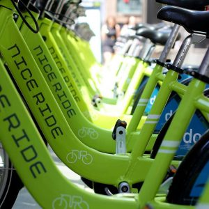 Nice ride pushes for an increase in dockless bike locations, making rental cheaper for Minnesota residents.