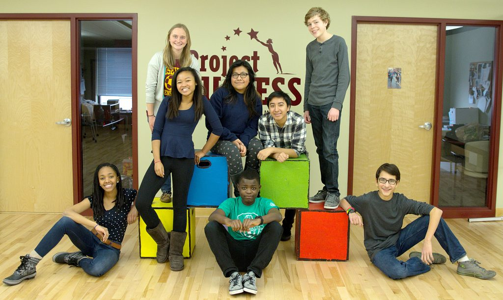 Members of Project SUCCESS. (Photo courtesy of Project SUCCESS)