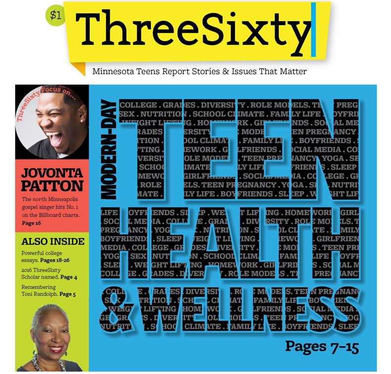 ThreeSixty September 2016 Magazine cover