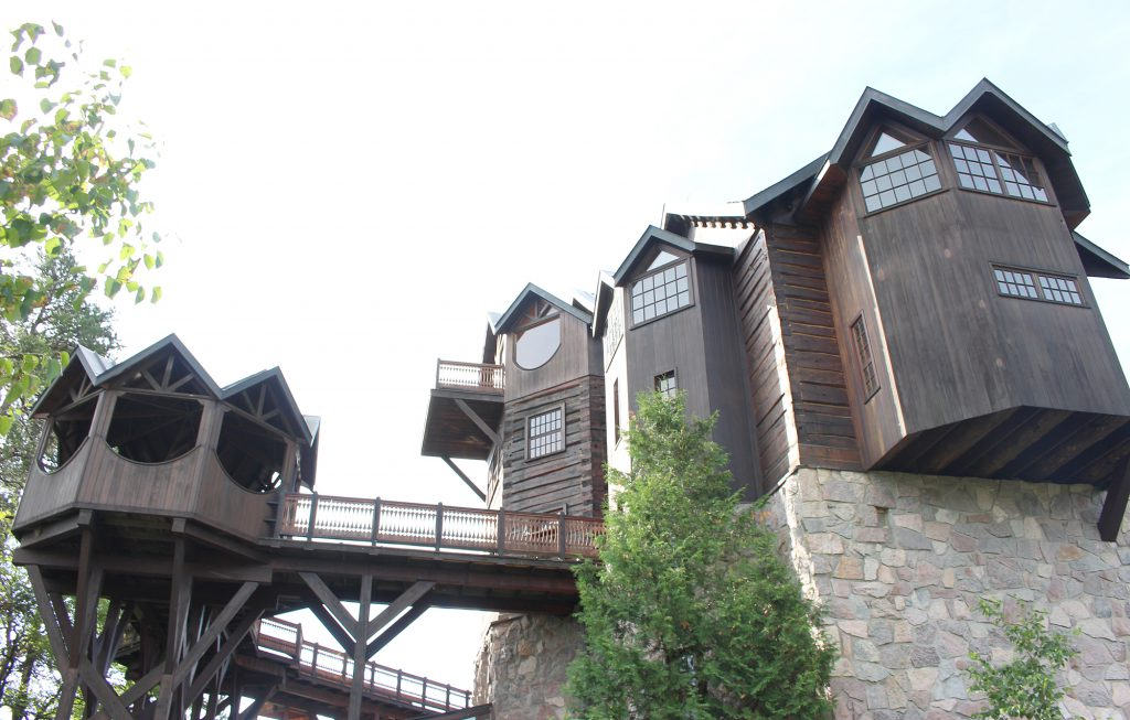 Construction on polar explorer Will Steger's Steger Wilderness Center in Ely began in 1988, and the building is still being finished. Steger expects the Wilderness Center, which will host a variety of programs on environmental and social issues, will be completed by 2020.