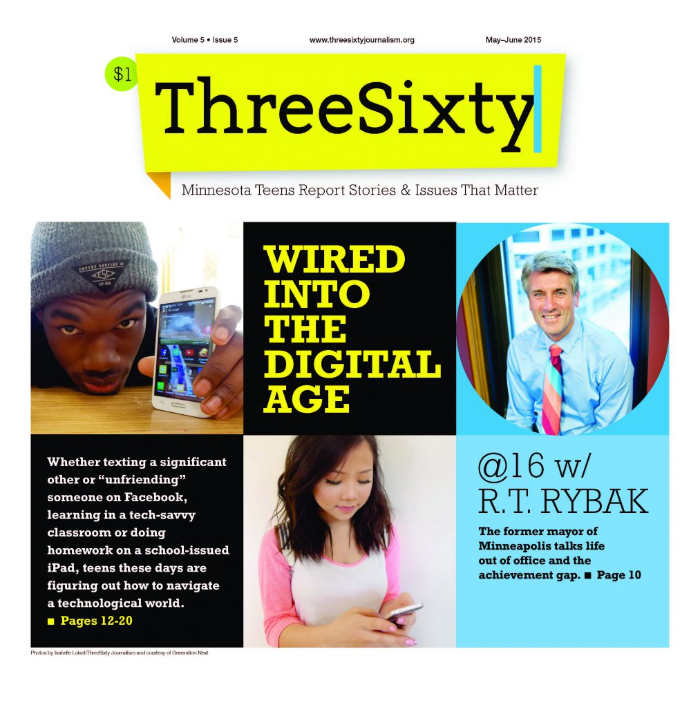 ThreeSixty June 2015 Magazine cover
