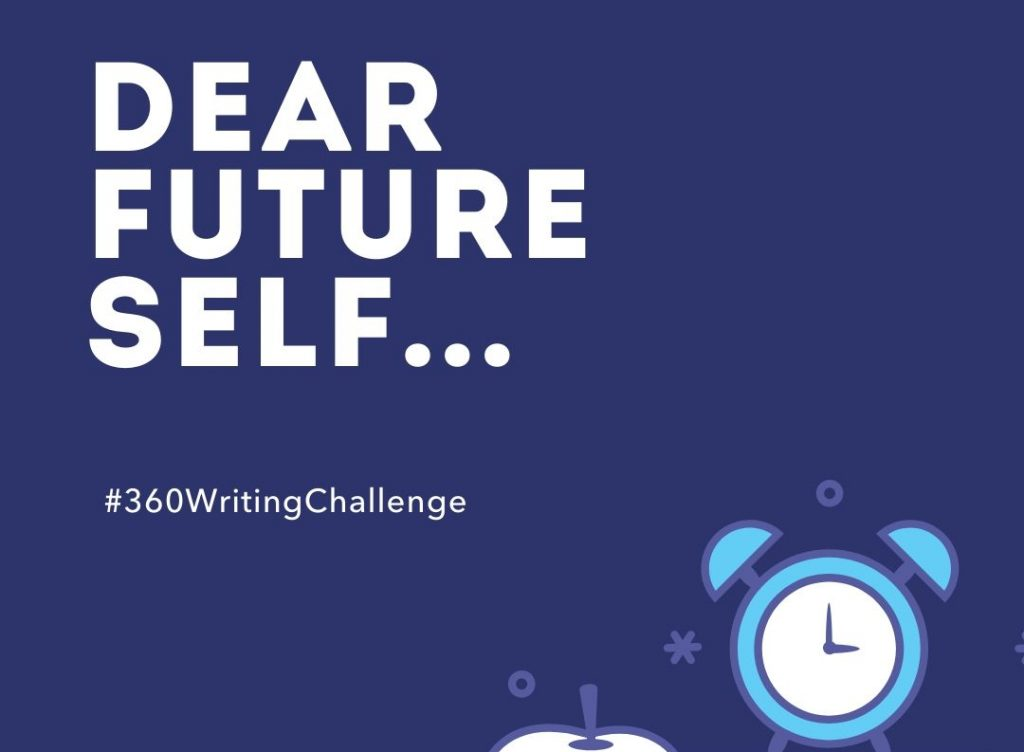 Dear future self thumbnail writing challenge