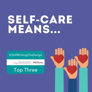 Writing Challenge - self-care