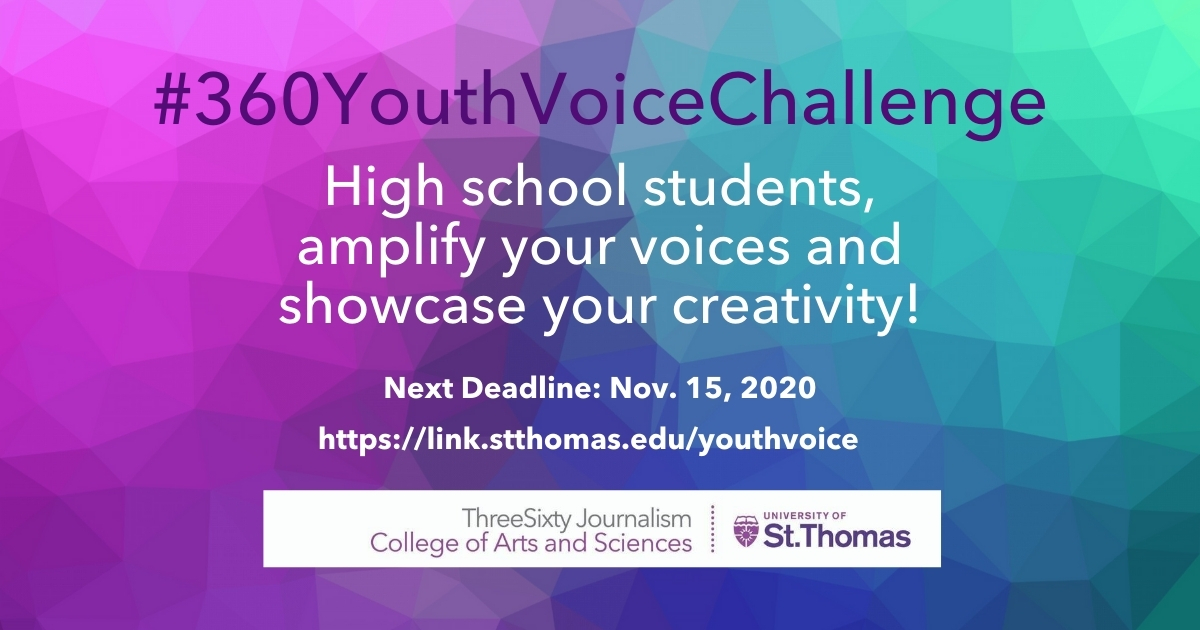 Youth Voice Challenge Fall 2020