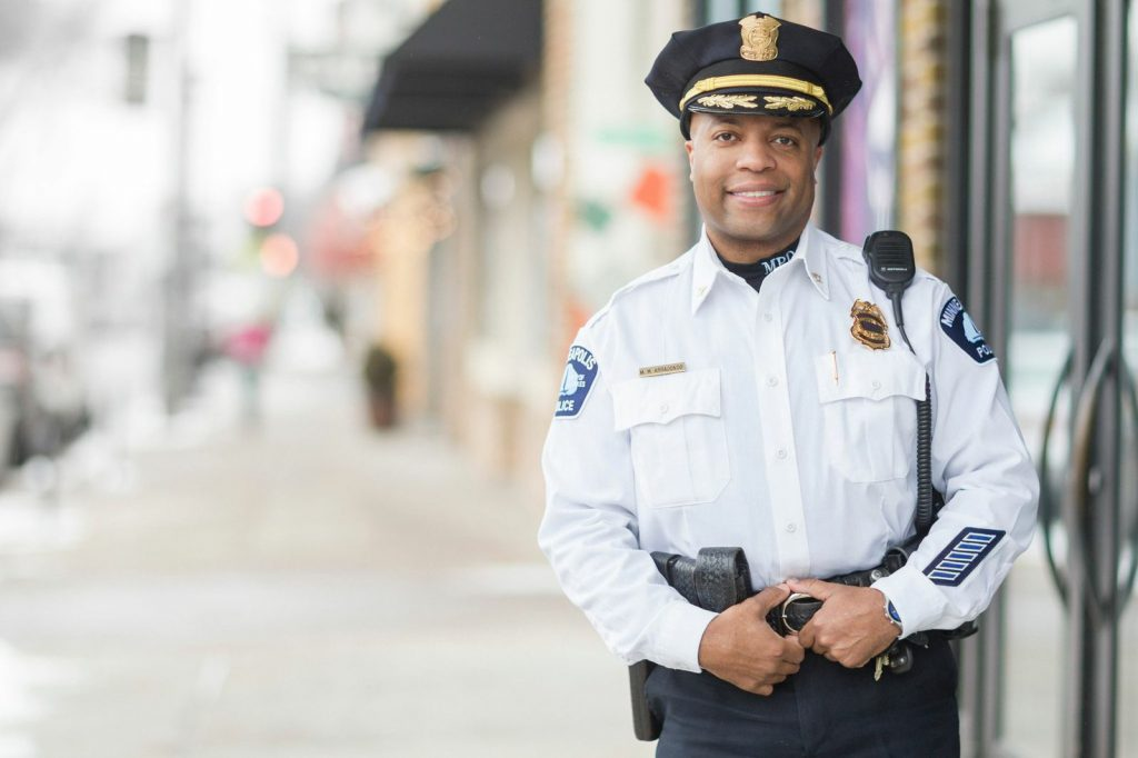 "Minneapolis Police Chief Medaria Arradondo, who goes by the nickname ""Rondo,"" is a Minneapolis native. He's also the first African-American police chief in the department's history. (Photo courtesy of Minneapolis Police Department)"